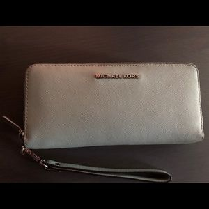 Michael Kors Light Blue Wallet